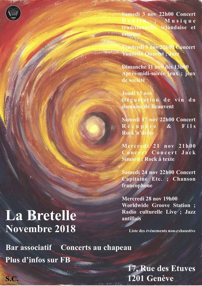 novembre 2018 à la Bretelle