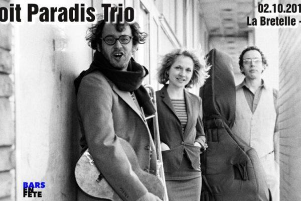 Benoit Paradis Trio (CA) - Jazz chanson