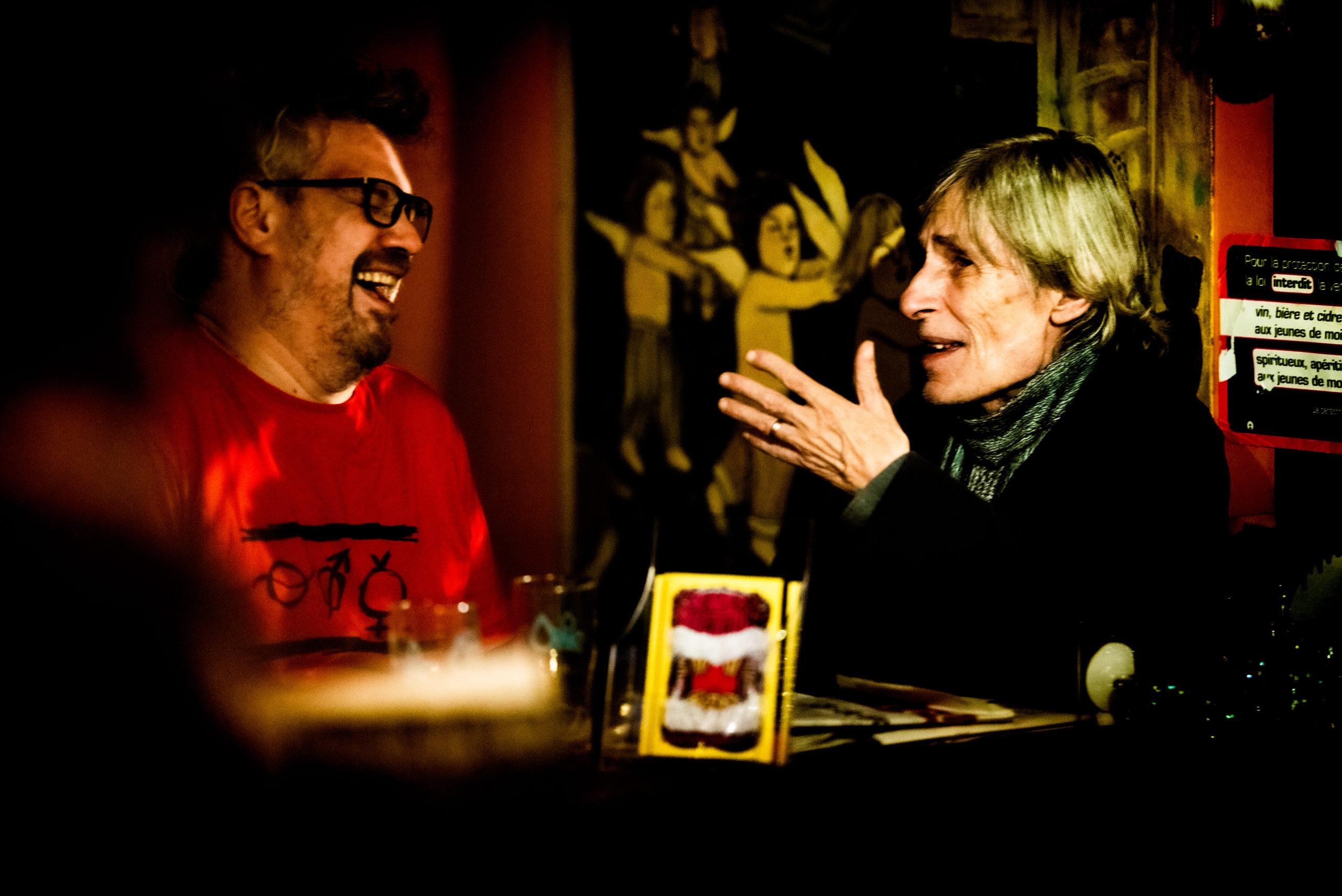 Sébastien Gabriel & Yoanna · Festival des 40 ans @ La Bretelle · nov. 2019 · Olivier Carrard