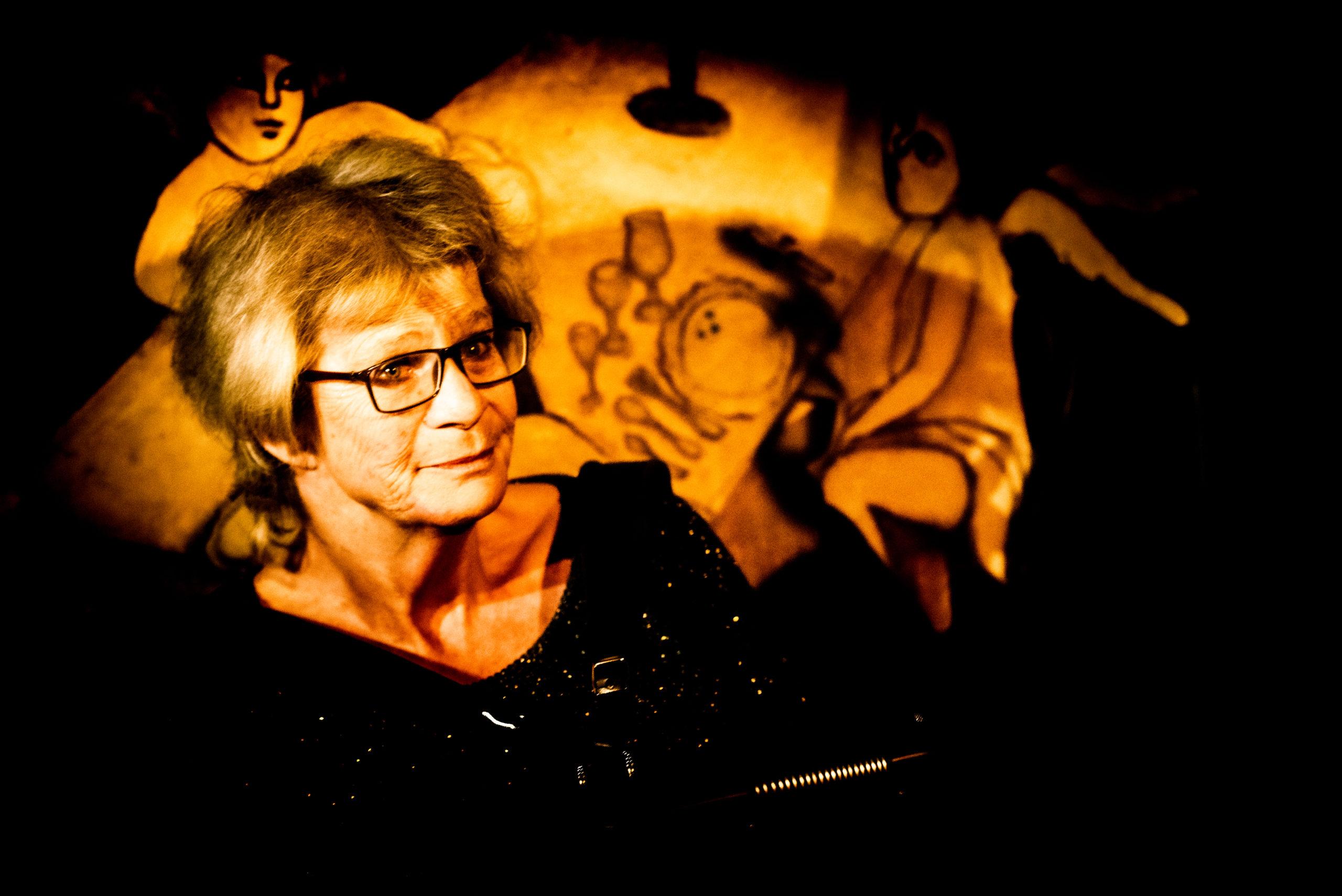La pioche dans le dos & Marie-Claire et Sophie Solo · Festival des 40 ans @ La Bretelle · nov. 2019 · Olivier Carrard