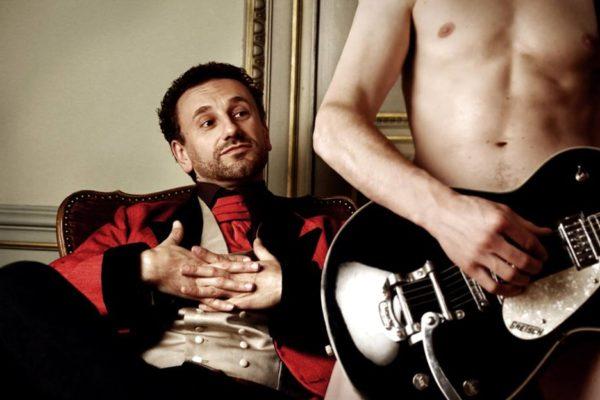 Nicolas Bacchus - chanson qui touche les bords - La Bretelle, bar associatif, Genève