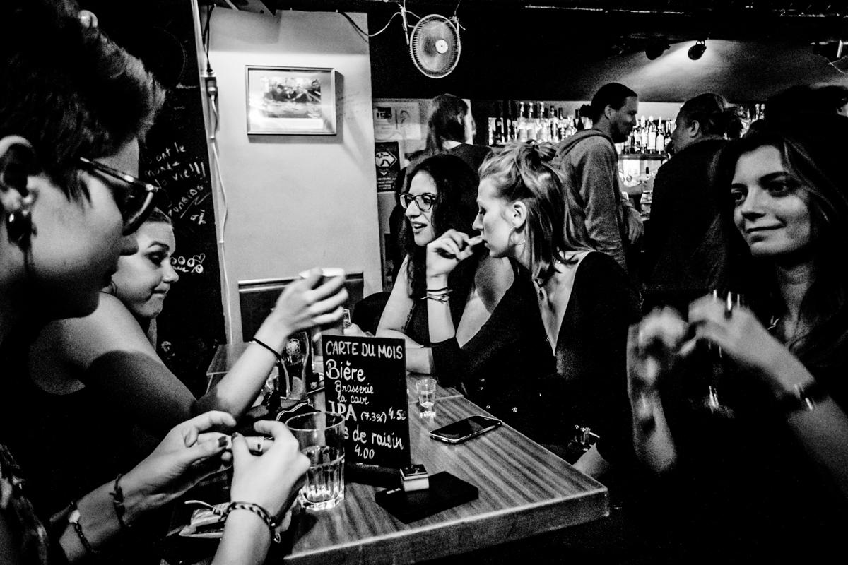 Public et potes à la Bretelle · oct. 2018 · Olive
