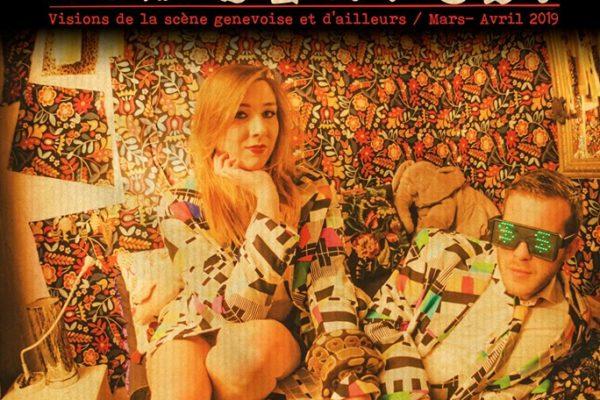 Vernissage Debout Les Braves 18 + HIER w. Mireille Plaisir à La Bretelle, bar associatif à Genève