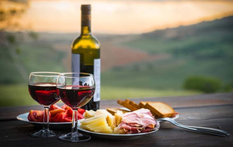 la cuisinière et le vigneron
