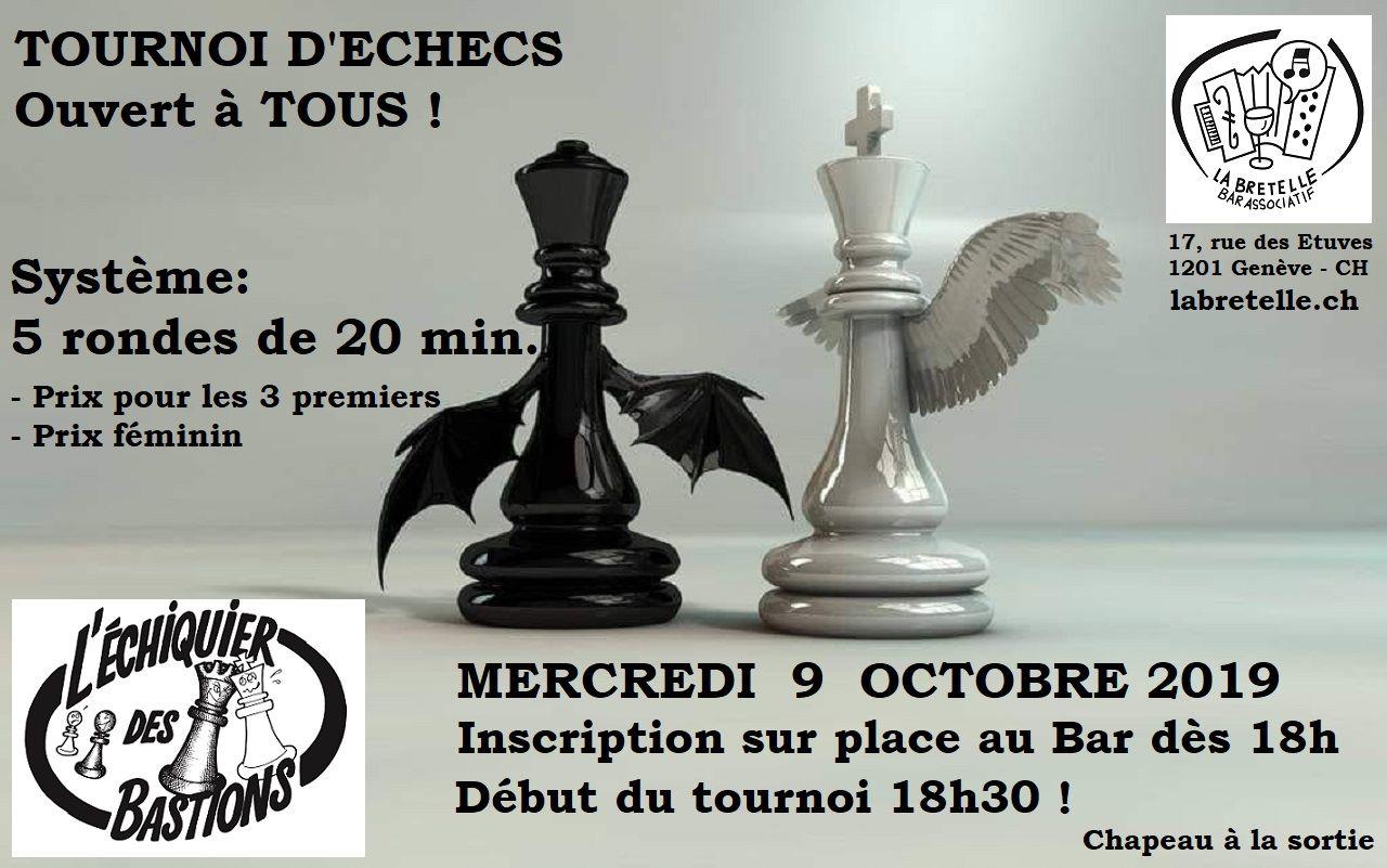tournoi d'échecs octobre 2019