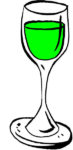 Vin rouge doux muté